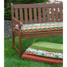 coral coast classic 45 x 18 in outdoor cushion for benches and
