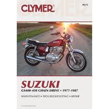 clymer repair manual suzuki gs400 450 chain drive m372