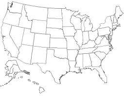 printable united states map united states blank map worksheet worksheets