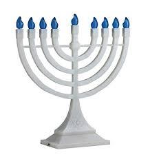 menorah electric zion judaica led electric hanukkah menorah battery