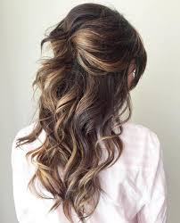 half up half down quiff hairstyles half up half down wedding hairstyles 50 stylish ideas for brides