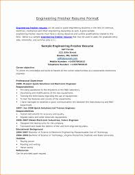 latest resume format for engineering students fresher resume format download awesome 10 freshers resume sles