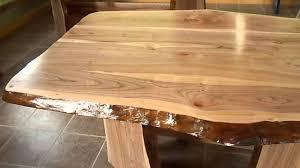 plateau bois pour bureau charmant planche bois table et table en bois tranche darbre de