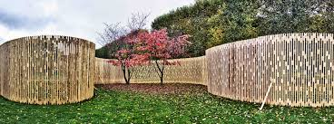 a tranquil garden design in the inner city fence vines eckersley