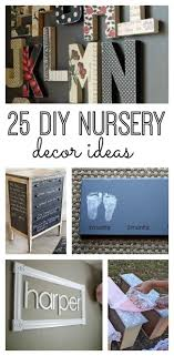Diy Nursery Decor 25 Diy Nursery Decor Ideas