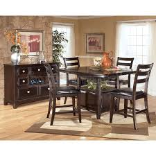 high dining room table sets ashley furniture dining room sets ridgley counter height pertaining