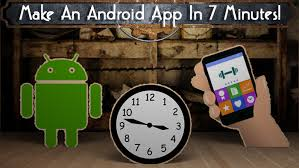 make an android app how to make an android app in 7 minutes tinkernut labs
