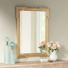 Beveled Bathroom Mirror by Farrell Gold 30