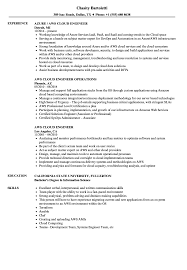 engineer resume exles aws cloud engineer resume sles velvet