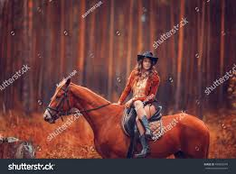 beautiful cowboy hat clothes style stock photo 499852078