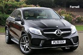 used mercedes for sale used mercedes benz gle coupe gle 350d 4matic designo line 5dr 9g