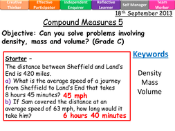 compound measures lessons level 4 8 f b by whidds teaching
