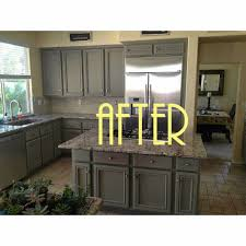 chalk paint kitchen cabinets before and after kitchen decoration