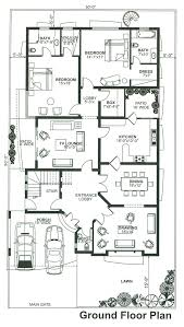 1 knal double story house design 6 bed house floor plan