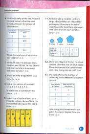 4th Grade Math Worksheets With Answers Envision Math Grade 4 Topic 2 Test Page 2 Envision 4th Grade