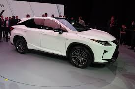 lexus uk gifts new york 2015 2016 lexus rx bows the truth about cars