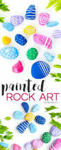 painted rock art u2013 outdoor craft project rock art backyard and