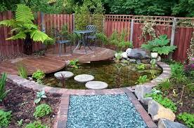 Small Garden Pond Design Ideas Markcastroco - Backyard pond designs small