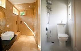 Doorless Shower For Small Bathroom Bathroom Make More Spacious Small Bathroom With Doorless Shower