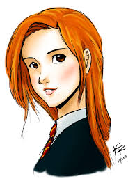 ginny weasley coloring pages ginny weasley by kra i like this ginny look harry potter fan