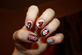 polish pals basketball nails tutorial softball nail art etsy