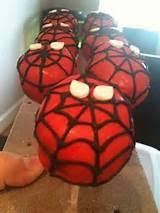 spiderman cake pop holder ideas 7252