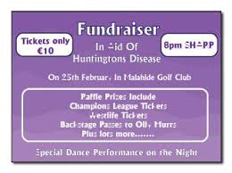 raffle u0026 benefit night tickets baldoyle print ltd north dublin