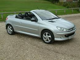 peugeot 206 convertible interior used peugeot 206 cc convertible 1 6 16v allure 2dr in farnham