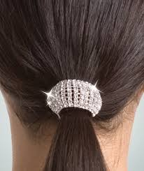 ponytail holder wrappers rhinestone ponytail holder you go girl
