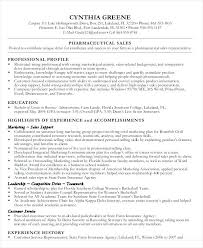 sample pharmaceutical resume pharmaceutical sales resume sample
