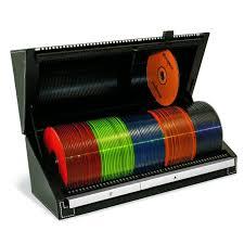 caseless cd storage