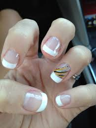 yellow nail design french manicure vacation fun theegirlinyellow
