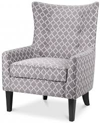 Printed Accent Chair Brie Printed Fabric Accent Chair Quick Ship Shops Products And