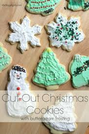 rolled cut out christmas sugar cookies the frugal