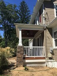 side porch designs front porch renovation nj monk s home improvements
