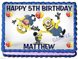 edible minions minions edible cake topper birthday decoration cake company on