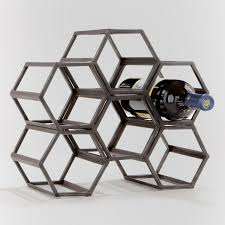 articles with gold hexagon wine rack tag hexagon wine rack pictures