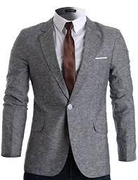 casual blazer flatseven mens slim fit linen stylish casual blazer jacket at