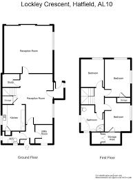 Hatfield House Floor Plan by 3 Bedroom House For Sale In Lockley Crescent Hatfield Al10 Al10