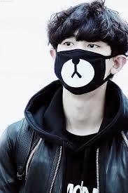 Masker Exo this is actually so haha exo chanyeol exo s chanyeol