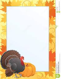 thanksgiving frame stock vector image 59957488
