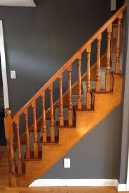 Refinish Banister How To Refinish A Staircase For Under 50 Frugalwoods