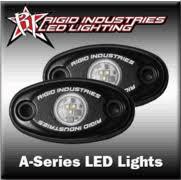 Rigid Rock Lights Rigid Industries A Series Led Lights