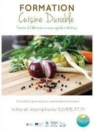 formation de cuisine gratuite formation en alimentation durable collaborateur de cuisine