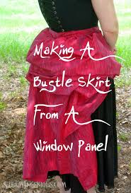 How To Make A Window by Steam Ingenious Tutorial How To Make A Bustle Skirt From A