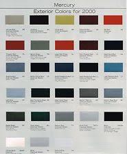 paint color chart ebay