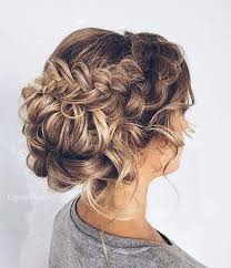 Messy Braided Updo For Prom Hair Upstyles Pinterest