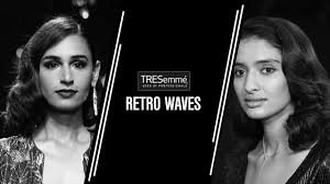hair you wear runway hair you can wear retro waves tresemmé lfw sr 17