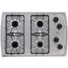 32 Inch Gas Cooktop Whirlpool Cooktops Appliances The Home Depot