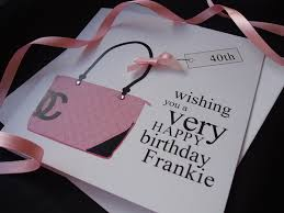 pink designer birthday card bag handmade cards pink u0026 posh